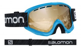 Salomon Juke Ski Goggles - Blue / Universal Tonic Orange