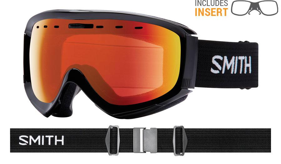 4b4710a23f Smith Optics Prophecy Prescription Ski Goggles - Black   ChromaPop ...