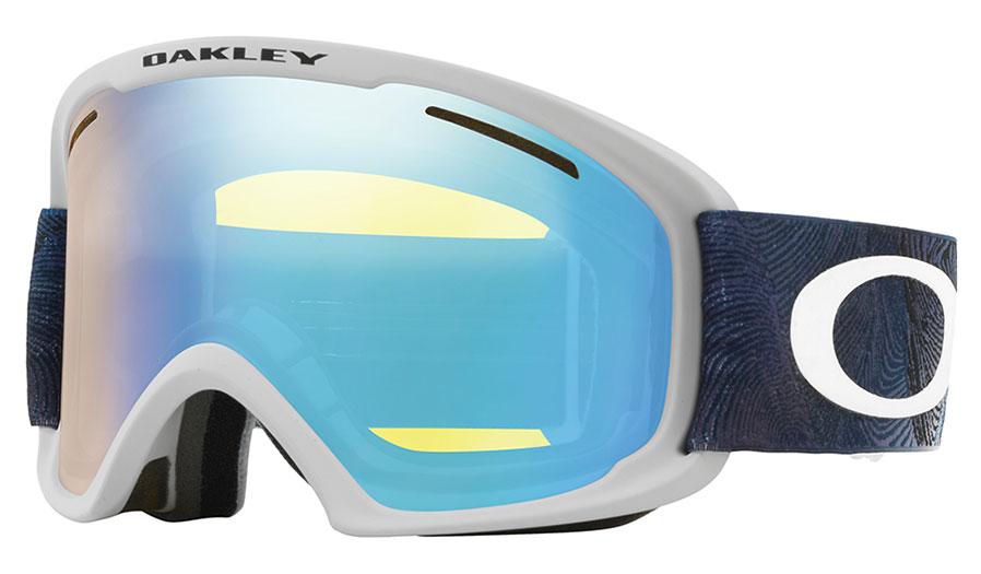 b327a388a27 Oakley O Frame 2.0 XL Ski Goggles - Mystic Flow Poseidon   HI Yellow  Iridium - RxSport