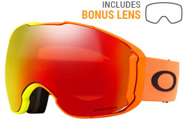 Oakley Airbrake XL Ski Goggles - Harmony Fade / Prizm Torch Iridium + Prizm Rose