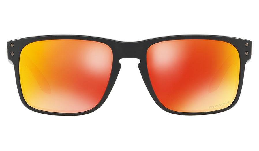 64e1c75bc6 Oakley Holbrook Sunglasses - Matte Black   Prizm Ruby Iridium - RxSport