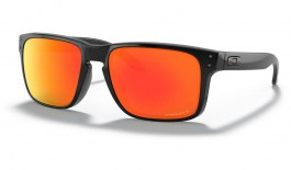 Oakley Holbrook Sunglasses - Polished Black / Prizm Ruby Polarised
