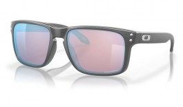Oakley Holbrook Sunglasses - Steel / Prizm Snow Sapphire