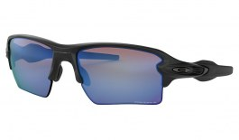 Oakley Flak 2.0 XL Sunglasses - Matte Black / Prizm Deep Water Polarised