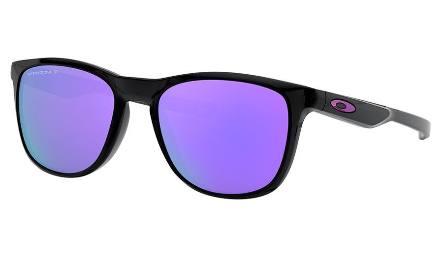 Oakley Trillbe X Sunglasses - Black Ink / Prizm Violet Polarised