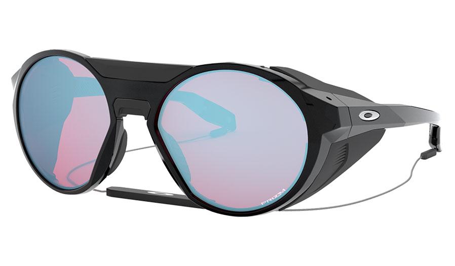 Oakley Clifden Sunglasses - Polished Black / Prizm Snow Sapphire