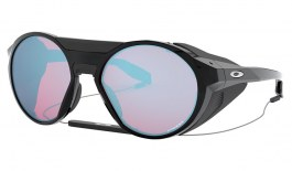 Oakley Clifden Sunglasses - Polished Black / Prizm Snow Sapphire