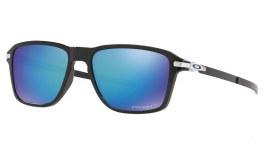 Oakley Wheel House Sunglasses - Polished Black / Prizm Sapphire Polarised