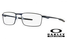 Oakley Fuller Prescription Glasses - Matte Midnight - Oakley Lenses
