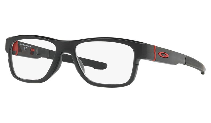 012a45984c Oakley Crossrange Switch Prescription Glasses - Black Ink   Redline ...