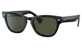 Ray-Ban RB2201 Laramie Sunglasses - Black / Green