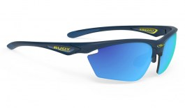 Rudy Project Stratofly Sunglasses - Matte Navy Blue / Multilaser Blue