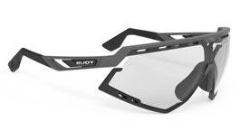 Rudy Project Defender Prescription Sunglasses - Clip-On Insert - Matte Pyombo & Black / ImpactX 2 Photochromic Black