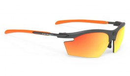 Rudy Project Rydon Sunglasses - Matte Graphite & Orange / Polar 3FX HDR Multilaser Orange