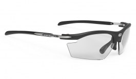 Rudy Project Rydon Prescription Sunglasses - Clip-On Insert - Matte Black / ImpactX 2 Photochromic Black