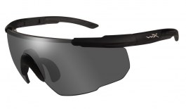 Wiley X Saber Advanced Prescription Sunglasses - Clip-On Insert - Matte Black / Smoke Grey