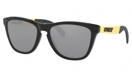 Oakley Frogskins Mix Sunglasses - Polished Black & Gold / Prizm Black