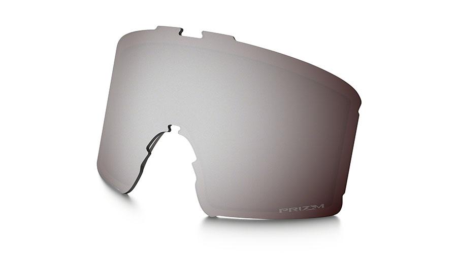Oakley Line Miner Ski Goggles Replacement Lens Kit - Prizm Black Iridium