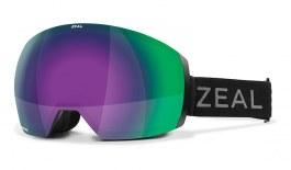 Zeal Portal XL Ski Goggles - Dark Night / Jade Mirror + Persimmon Sky Blue Mirror