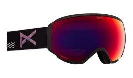 Anon WM1 Ski Goggles - Waves / Perceive Sunny Red + Perceive Cloudy Burst
