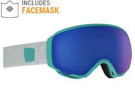 Anon WM1 MFI Ski Goggles - Empress Teal / SONAR Blue