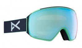 Anon M4 Toric MFI Ski Goggles - Navy / Perceive Variable Blue + Perceive Cloudy Pink