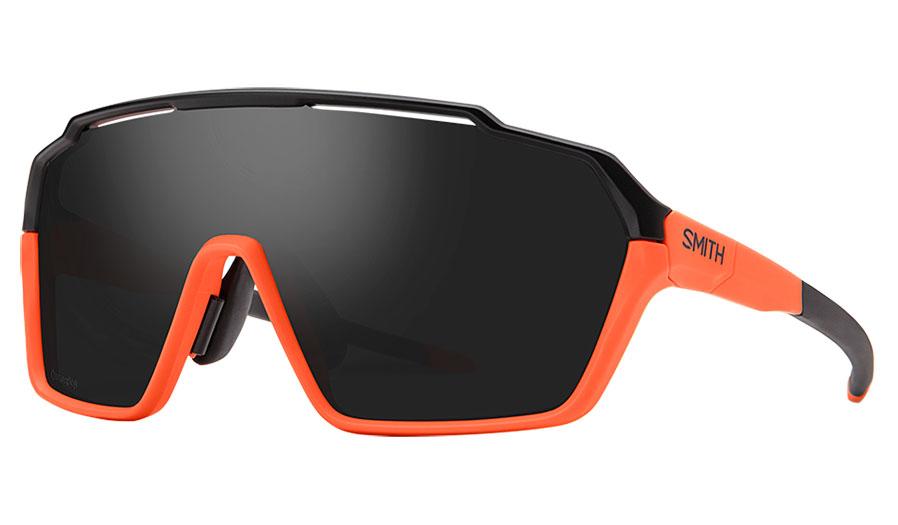 Smith Shift MAG Sunglasses - Matte Black Cinder / ChromaPop Black + Clear