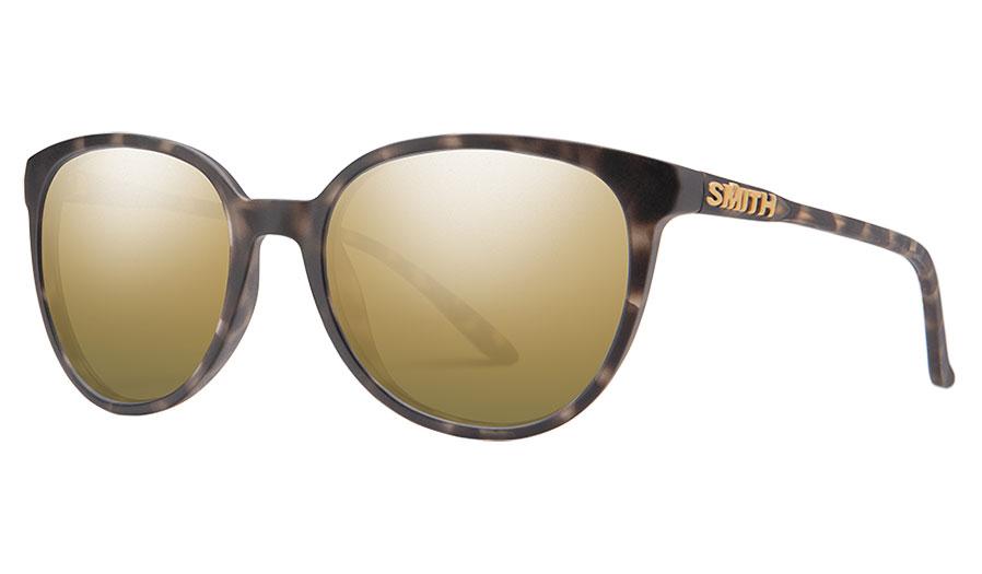 Smith Cheetah Sunglasses - Matte Ash Tortoise / Gold Mirror