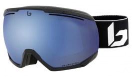 Bolle Northstar Prescription Ski Goggles - Matte Black Corp / Phantom+ Polarised Photochromic