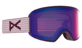 Anon WM3 Ski Goggles - Purple / Perceive Variable Violet + Perceive Cloudy Pink