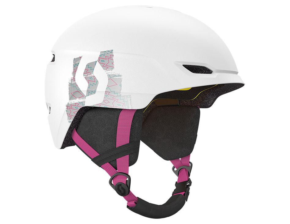 Scott Keeper 2 Plus MIPS Junior Ski Helmet - White