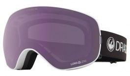 Dragon X2S Ski Goggles - Pearl / Lumalens Violet + Lumalens Dark Smoke