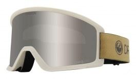 Dragon DX3 OTG Ski Goggles - Block Beige / Lumalens Silver Ion