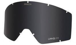 Dragon DX3 OTG Ski Goggles Replacement Lens - Lumalens Dark Smoke