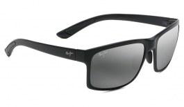 Maui Jim Pokowai Arch Sunglasses - Matte Black / Neutral Grey