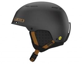 Giro Emerge MIPS Ski Helmet - Metallic Coal & Tan