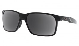Oakley Portal X Prescription Sunglasses - Polished Black (Gunmetal Icon)