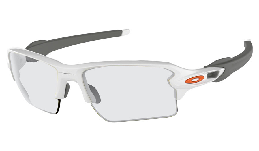 20e106dab27 Oakley Flak 2.0 XL Prescription Sunglasses. Colour  Polished White (Orange  ...