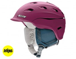 Smith Vantage Women's MIPS Ski Helmet - Matte Grape