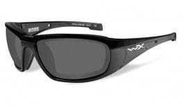 Wiley X Boss Prescription Sunglasses - Gloss Black