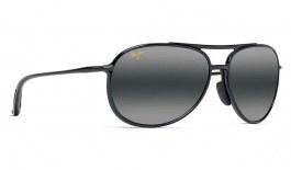 Maui Jim Alelele Bridge Prescription Sunglasses - Gloss Black