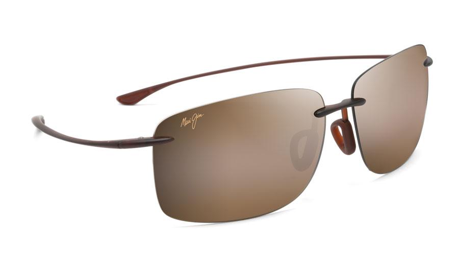 Maui Jim Hema Sunglasses - Matte Rootbeer / HCL Bronze Polarised