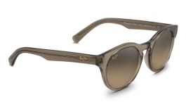 Maui Jim Dragonfly Sunglasses - Translucent Taupe / HCL Bronze Polarised