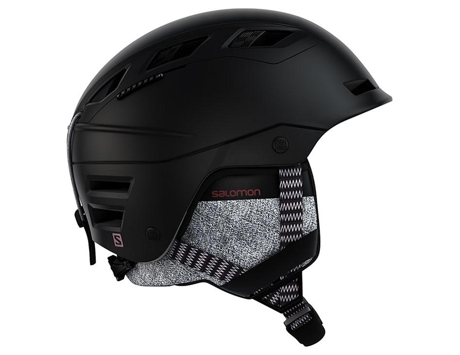 Salomon QST Charge Ski Helmet - Black