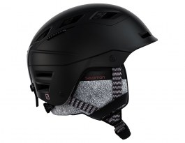 Salomon QST Charge Ski Helmet - Black