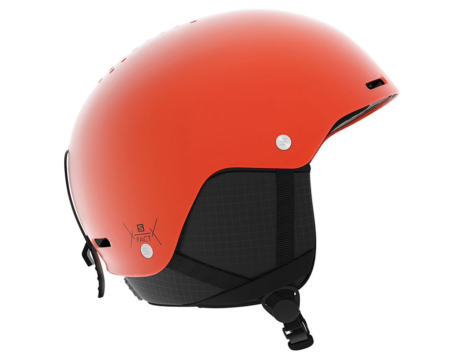 Salomon Pact Ski Helmet - Orange Pop