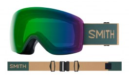 Smith Skyline Ski Goggles - Spruce Safari / ChromaPop Everyday Green Mirror