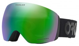 Oakley Flight Deck Ski Goggles - Factory Pilot Blackout / Prizm Jade Iridium