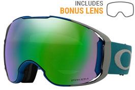 Oakley Airbrake XL Ski Goggles - Poseidon Balsam / Prizm Jade Iridium + Prizm Rose