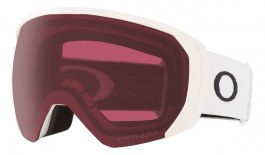 Oakley Flight Path XL Ski Goggles - Matte White / Prizm Dark Grey